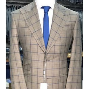 Other - Super 150 cerruti beige wool suit